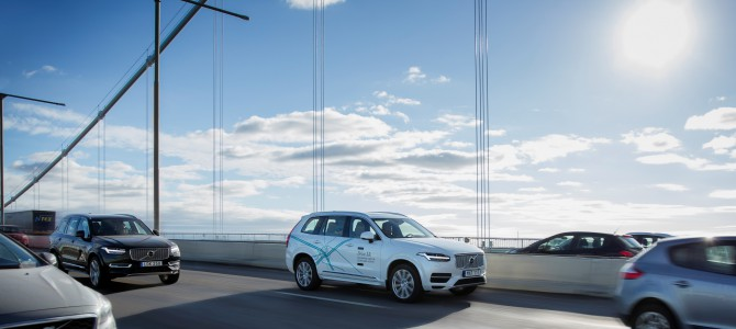 Volvo To Test Autonomous Cars In London by 2018