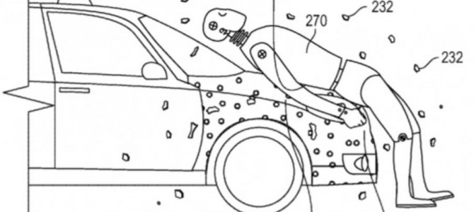 Google to patent sticky bonnet for pedestrian impacts