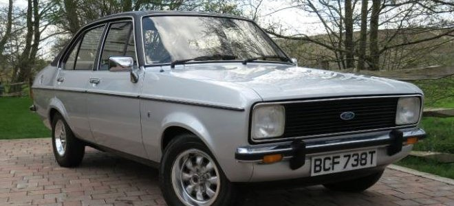Timewarp 1979 Ford Escort goes to Auction