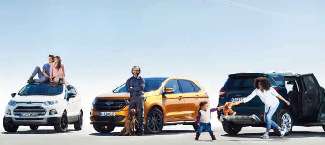 Ford's Study to find out why SUV Sales have increased across Europe