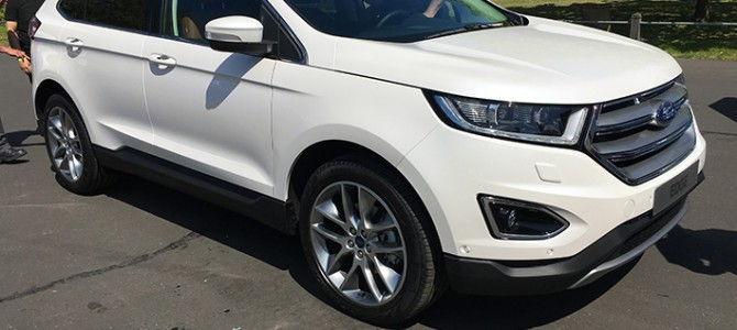 Ford Edge Arrives Ahead of the London Motor Show