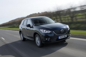Mazda CX-5 SE-L front action shot 15 plate - Low Res