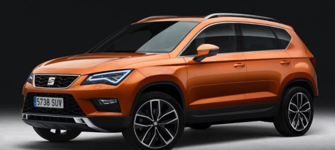 The SEAT Ateca is available to order now at Swindon SEAT