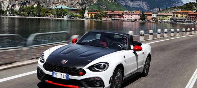 Abarth confirm prices for the Abarth 124 Spider due out this Summer