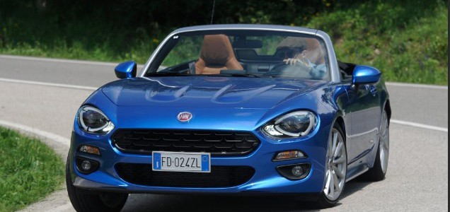FIAT 124 SPIDER COMING SOON TO FIAT SHOWROOMS soon in 2016