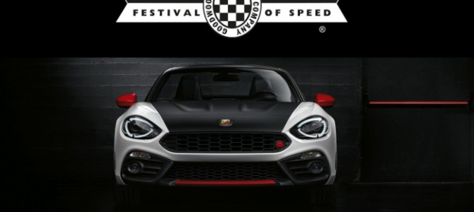 The Abarth 124 at the Goodwood Festival of Speed & Italy – See the Videos