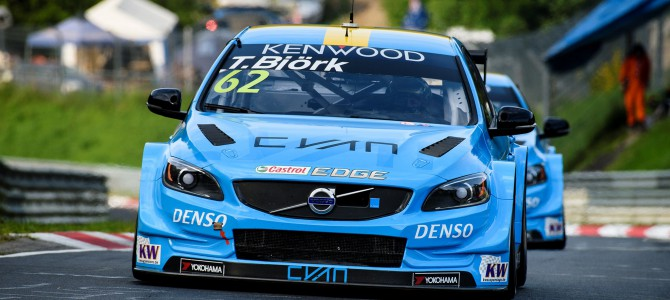 Polestar Cyan Racing show winning potential at the Nürburgring