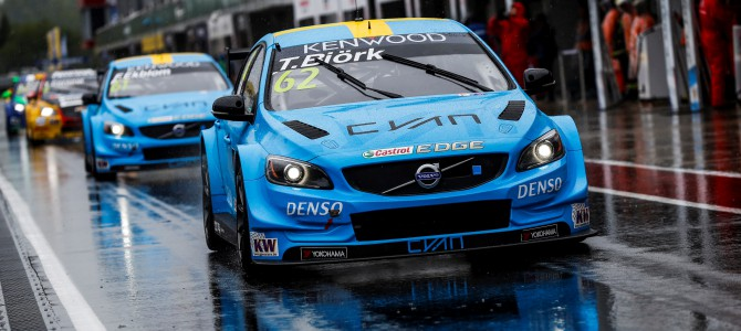 A hard but strengthening WTCC weekend in Russia for Polestar Cyan Racing