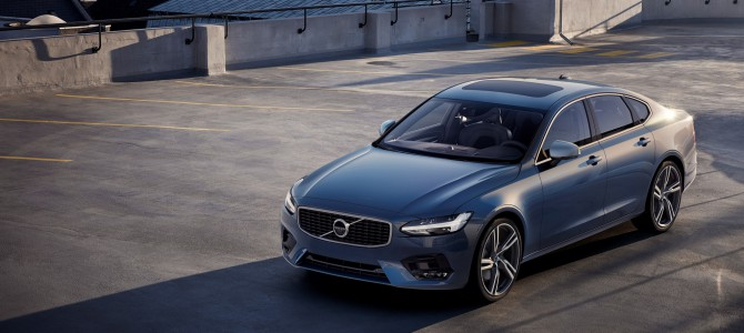 Volvo Cars reveals sporty S90 and V90 R-Design models