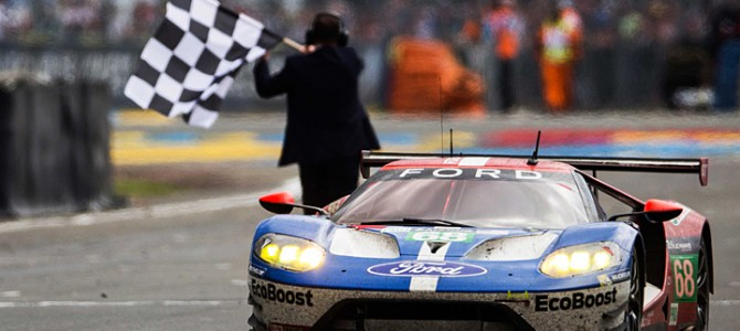 Ford GT takes Historic Le Mans 2016 Class Win