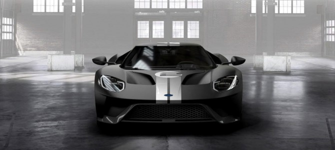 Special Edition Ford GT to honour Le Mans winning GT40
