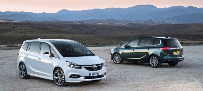 Vauxhall Reveal New Zafira Tourer