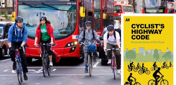 The AA has published the very 1st version of the Highway Code dedicated to cyclists.