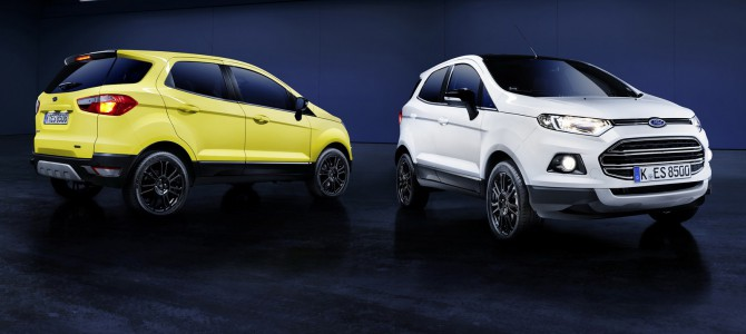 Ford EcoSport Titanium S added to the Ford's SUV range.
