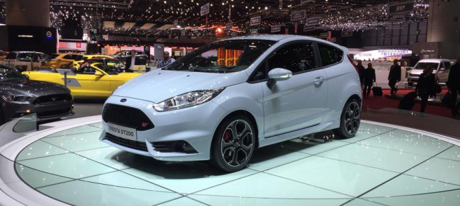 Limited Edition Ford Fiesta ST200 to cost £22,745