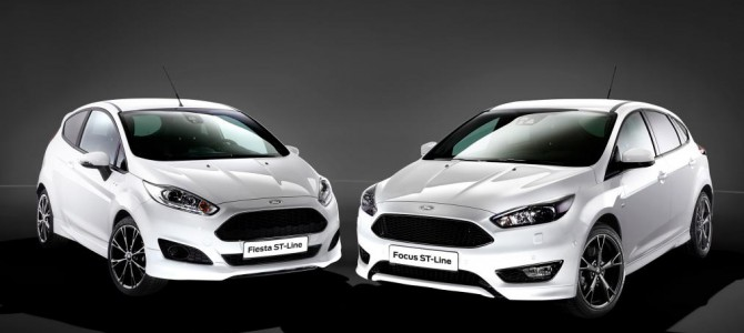 New Ford Fiesta ST-Line and Ford Focus ST-Line on their way.