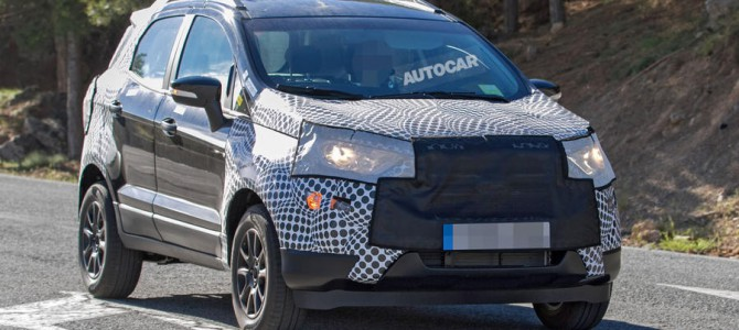 New Ford EcoSport spotted testing before a 2017 release