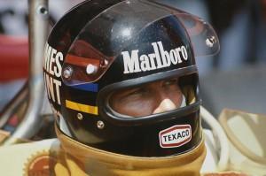 Jarama, Spain. 2nd May 1976. James Hunt (McLaren M23-Ford), 1st position, portrait. World Copyright: LAT Photographic. Ref: 76 ESP 20.
