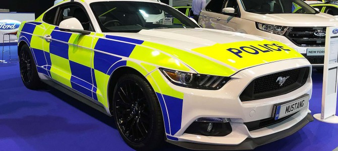 Ford Mustang to be used by Police?