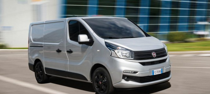 Fiat Talento Panel Van goes on sale in the UK