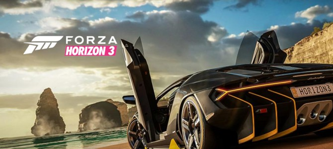 Forza Horizon 3 announce the first 165 cars to feature