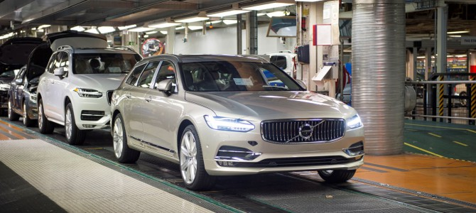The First Of Many! First V90 Rolls Off The Production Line