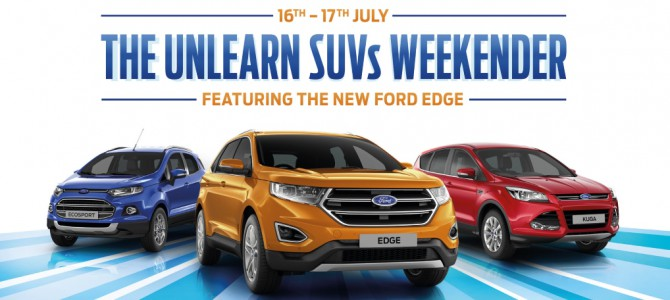Dees and Invicta Ford Unlearn SUV Weekender