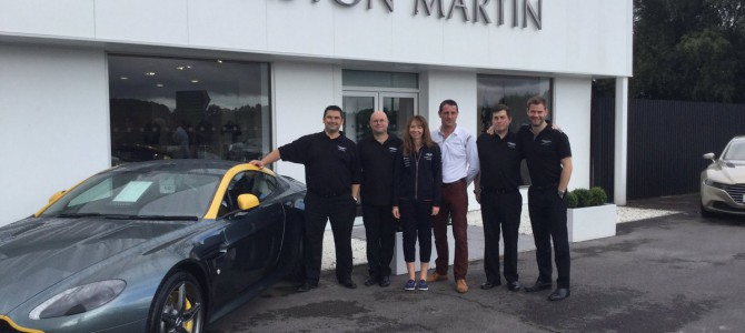 Grange Aston Martin Birmingham is now open…. Follow them on Twitter