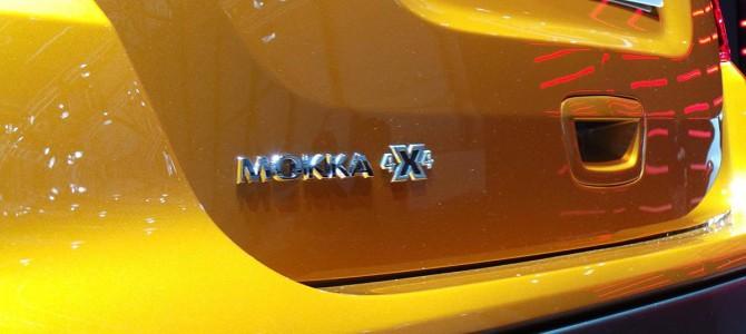 New Mokka X crossover starting from £17,590