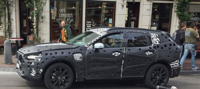 The All New Volvo XC60 (2017) Spotted on Test in Amsterdam