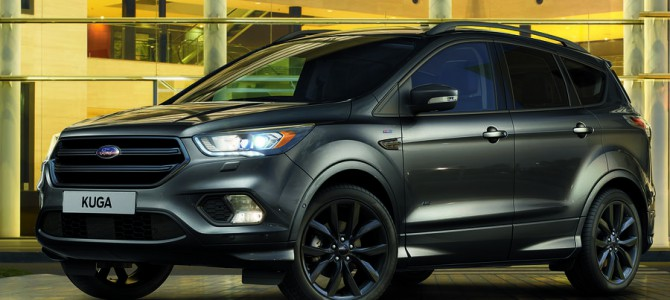 The Ford Kuga added to Ford's sporty ST-Line
