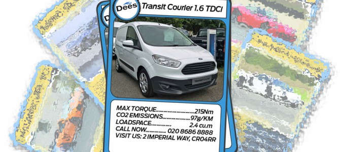 Dee of Croydon Transit Centre Top Trumps: Ford Transit Courier Van