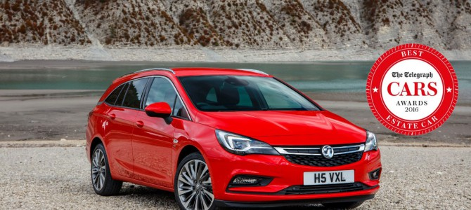 Astra Sports Tourer Awarded 'Best Estate Car' at Telegraph Car Awards
