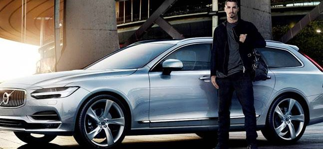 Zlatan Ibrahimović Joins Volvo in Brand New V90 Marketing Campaign!