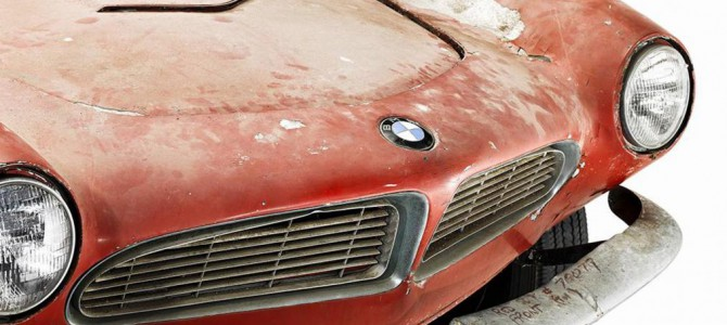 Elvis Presley's BMW 507 Restored