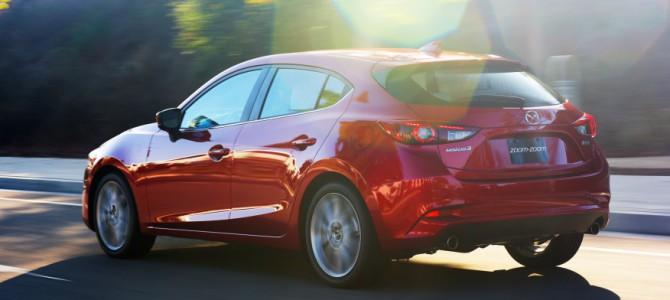 Mazda 3 Update for 2017