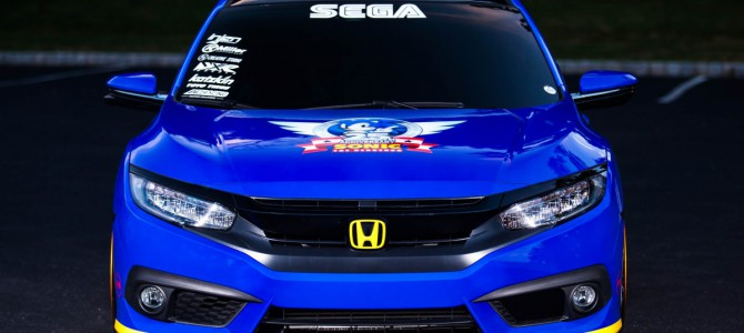 Honda teams up with Sonic the Hedgehog