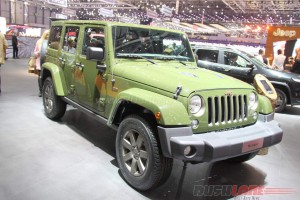 Jeep Wrangler 75 Anniversary Edition at 2016 Geneva