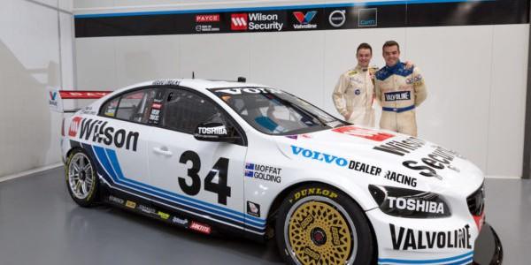 Volvo unveils classic livery for Sandown 500