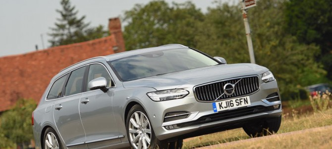 The all new Volvo V90 D4 in review
