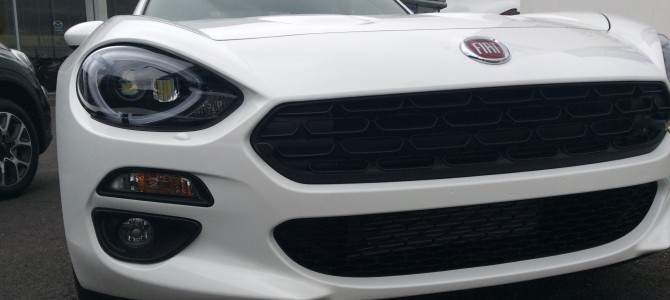 FIAT 124 SPIDER IS NOW AT BOLTON MOTORPARK!