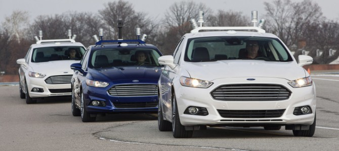 Ford Promises mass produced self driving cars in 5 years