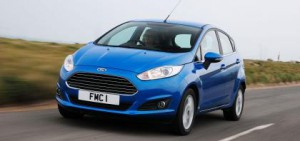 The Ford Fiesta once again leads new car sales