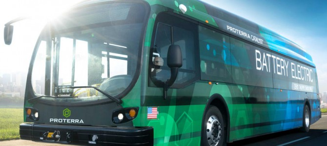 Are buses set to go all electric?