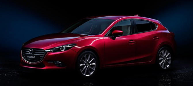 2017 Mazda 3 is here!