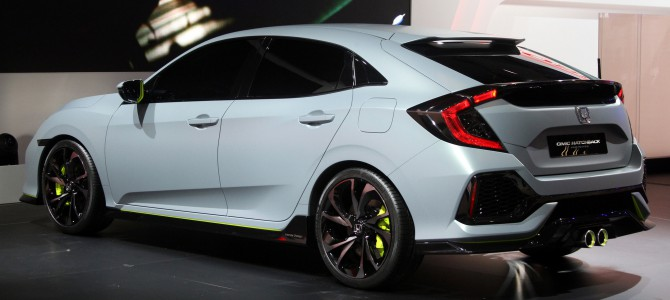 2017 Honda Civic at the paris motor show – a talk with Chief Engineer and Principal Designer