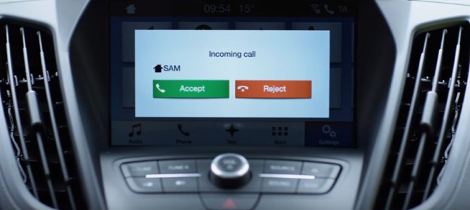 New Ford Kuga and Sync 3 help you never miss a call on the move.