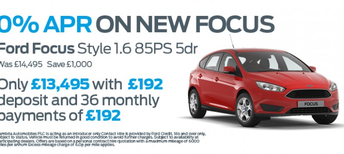 0% APR available all new Ford*