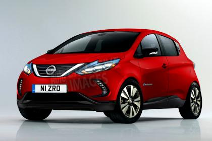 Nissan Considers New Electric Supermini