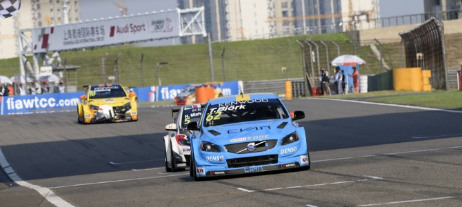 A WTCC WIN FOR POLESTAR CYAN RACING